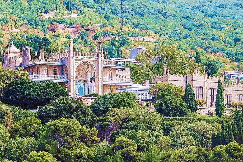 Алушта 3 алупкинский дворец
